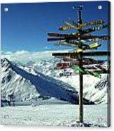 Austria Mountain Road Show Acrylic Print