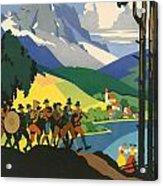 Austrian Alps Acrylic Print