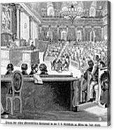 Austrian Assembly, 1848 Acrylic Print