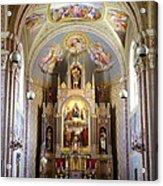 Austrian Church Interior Acrylic Print