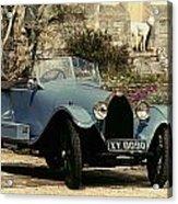 Auto: Bugatti Type, 1925 Acrylic Print
