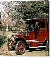 Auto: French Taxi, 1908 Acrylic Print