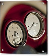Auto Meter Dashboard Guages Acrylic Print