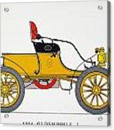 Auto: Oldsmobile, 1904 Acrylic Print