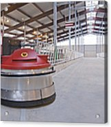 Automated Feed Pusher Acrylic Print by Jaak Nilson