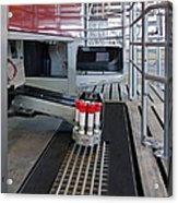 Automatic Milking Machine Acrylic Print
