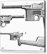 Automatic Pistols Acrylic Print