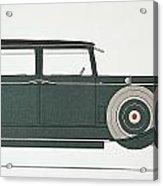 Automobile: Stutz, 1929 Acrylic Print