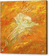 Autum Angel Acrylic Print