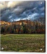 Autumn -- Foothills - Maine Acrylic Print