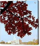 Autumn Afternoon In Peterborough Acrylic Print