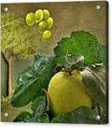 Autumn Apple Acrylic Print