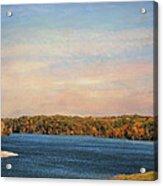 Autumn At Lake Graham Acrylic Print