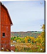 Autumn At The Farm Acrylic Print