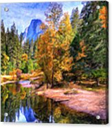 Autumn At Yosemite Acrylic Print