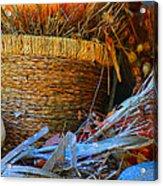 Autumn Basket Acrylic Print