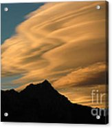 Autumn Clouds Jasper 2 Acrylic Print