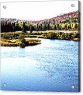 Adirondack Lake 38  Acrylic Print