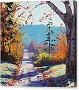 Autumn Delight Acrylic Print by Graham Gercken