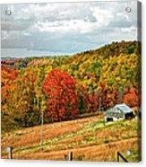 Autumn Farm 2 Acrylic Print