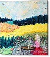 Autumn Flights of Fancy Acrylic Print