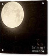 Autumn Full Moon Acrylic Print