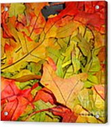 Autumn Gathering Acrylic Print