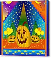 Autumn Greetings Acrylic Print