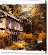Autumn Grist Acrylic Print by Steve McKinzie