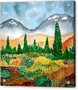 Autumn In Alaska Acrylic Print