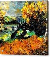 Autumn In Ardennes 672101 Acrylic Print