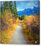 Autumn In Canada Acrylic Print