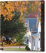 Autumn In Nebraska City No.4 Acrylic Print