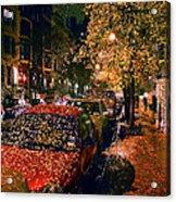 Autumn in New York City Acrylic Print