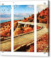 Autumn In North Carolina Acrylic Print