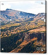 Autumn In Rocky Mountain National Park Acrylic Print