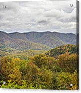 Autumn In Shenandoah National Park Acrylic Print by Pierre Leclerc Photography
