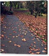 Autumn In St Fagans Park Cardiff Acrylic Print
