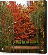 Autumn In The City Acrylic Print