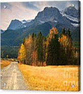 Autumn In The Rockies Acrylic Print