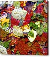 Autumn In Water Acrylic Print