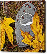 Autumn Ladybugs Acrylic Print