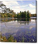 Autumn Lake Acrylic Print