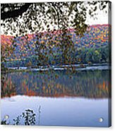 Autumn Lake Acrylic Print