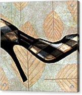 Autumn Leaves Stilettos Acrylic Print