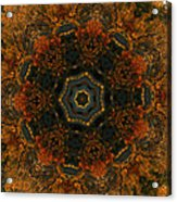 Autumn Mandala 5 Acrylic Print