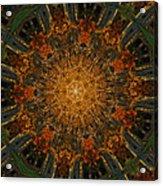 Autumn Mandala 6 Acrylic Print