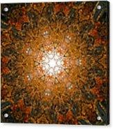 Autumn Mandala 8 Acrylic Print