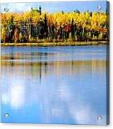 Autumn On Chena Lake Acrylic Print