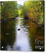 Autumn On Satus Creek  Acrylic Print